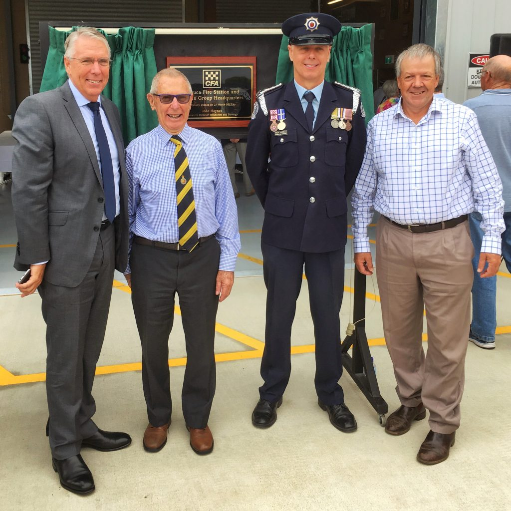 Echuca Fire Station opening